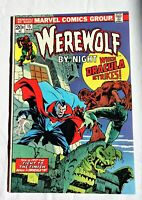 WEREWOLF BY NIGHT #15 New origin; Dracula (classic Ploog cover) High Grade