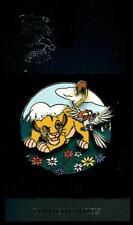 WDW Lion King Platinum Video Release Simba Zazu LE Disney Pin 24967