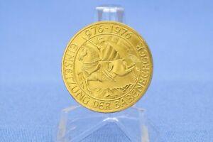 Österreich 1000 Schilling 1976 Babenberger * 13,5 Gramm - 900 Gold * Fast Pfr