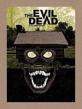 The Evil Dead SOLD OUT Ltd Ed Print #13 of 35! QFS Chris Olly Moss Mondo