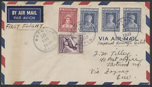 1939 Newfoundland to Ireland AUG 10 TransAtlantic Flight, NY Worlds Fair Label