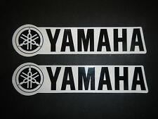 Two Yamaha Universal Tank Swingarm Fork Stickers Decals YZ125 YZ 125 2 Stroke MX