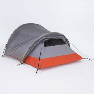 Tent Ultralight Trekking Tunnel Outdoor Hiking Tents Trek 900 3 Person Grey