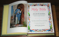 ❤️ BIG Heirloom Family HOLY BIBLE King James Red Letter Master Reference Edition