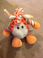 Geri Giraffe Plush Burton & Burton Yellow Brown Stuffed Animal Children Toy New