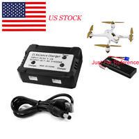 US 2 in 1 Balance Charger for Hubsan H501S Drone 2700mAh 7.4V 10C Li-po Battery