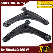 Pair Set Front Lower Control Arm w/ Ball Joint for Mitsubishi Lancer Outlander