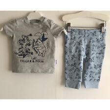 Disney Baby garçons Bleu Tigger & Pooh Set-Taille UK 3 mois à