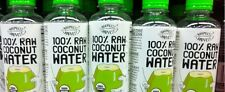 Harmless Harvest Organic 100% Coconut Water, 16- Ounce (8 BOTTLES TOTAL)
