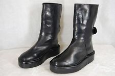 GORGEOUS !!! BARNY NAKHLE PLATFORM WOMEN ANKLE BOOTS EU 38 US 8 MADE IN ITALY