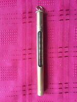 Vintage Hardy of Alnwick Brass Thermometer Fishing Tool 5 inch