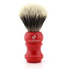 Best Silvertip Badger Hair Shaving Brush with Red Color's Resin Handle
