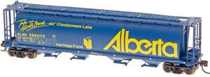 Intermountain N Scale Cylindrical Covered Hopper Alberta (Take A Break Series)
