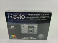 BRAND NEW Konica Revio II APS Point & Shoot Film Camera Kit New Old Stock Rare