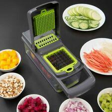 Küchenpresse Gemüse Zwiebel Knoblauch Food Slicer Chopper Cutter Genius Dicer