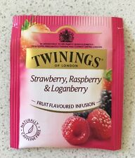 10 x Twinings Tea Bags - Strawberry Raspberry & Loganberry - Infusion  New