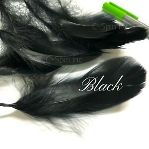 """100x 3-5"""" Goose Satinettes Loose Feathers for DIY Balloon Craft Wedding Party"""