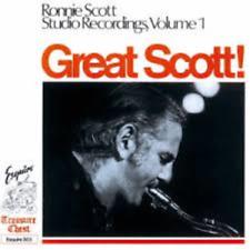 RONNIE SCOTT-GREAT SCOTT! RONNIE SCOTT STUDIO...VOL.1-JAPAN CD Ltd/Ed B57
