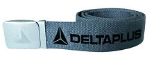 Delta Plus Panoply Atoll Mach Grey Heavy Duty Canvas Webbing Belt & Metal Buckle