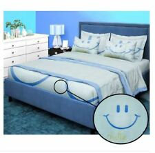 Bedsheet Fitted Sheet Cover Linen Collection with Pillowcase-(DOUBLE)-LIGHT BLUE