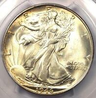 1946-S Walking Liberty Half Dollar 50C - PCGS MS66+ PQ Plus Grade - $525 Value!