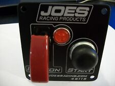 JOES RACING SWITCH PANEL IGNITION A/C COVER,START BUTTON, INDICATOR LIGHT 46115