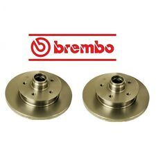 NEW VW Vanagon Transporter Set of 2 Front Disc Brake Rotors Brembo 251 407 617 K