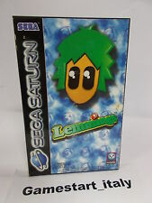 LEMMINGS (SEGA SATURN) PAL VERSION USED BOXED