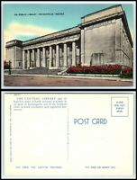 INDIANA Postcard - Indianapolis, Public Library F28