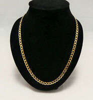 Brand New! Gents 9ct Yellow Gold Curb Chain Mens Chain