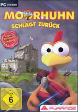 PC DVD-ROM + Moorhuhn schlägt zurück + Neu + Shooter + Action + Win 7