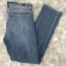"""Kut from the Kloth Jeans size 12 Catherine Boyfriend actual 34"""" x 30"""" Mid Rise"""