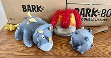 BARK BOX BUNDLE LOT OF 3 DOG TOYS
