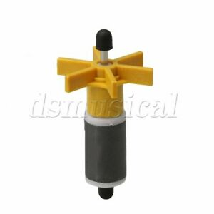 Plastic Metal Impeller Shaft Replacement Canister Filter 16mm Yellow