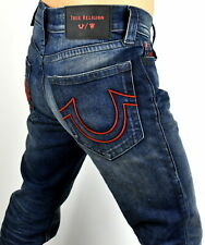 TRUE RELIGION MANCHESTER UNITED MENS ROCCO RELAXED SKINNY JEANS 102260 36W X 34L