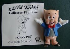 Warner Bros Loony Tunes Porky Pig Collector Figurine Cake Topper
