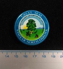 Seal Of NORTH DAKOTA. Pin Badge Exclusive Design. Limited Series. Litho.Metal