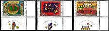 Israel 1996 Stamps HONEY, CANDLES, SUKKA - NEW YEAR FESTIVALS.MNH+RIGHT TABS.XF.