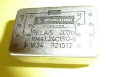 Relais  Schaltbau 300 Ohm ; 2 coils, 2xUM, 24V coil