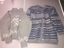 Set Of 2 Wool Sweaters Size S Small  SUSAN D and BP.