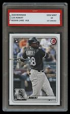 LUIS ROBERT 2020 BOWMAN #18 Topps 1ST GRADED 10 ROOKIE CARD RC CHICAGO WHITE SOX