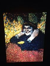 "Pablo Picasso ""old Woman 1901"" 35mm Spanish Cubism Art Slide"