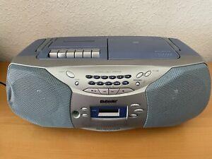 Sony CFD-S26L  tragbarer Stereo CD, Radio Kassetten-Rekorder