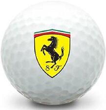 1 Dozen (Ferrari Logo) Mint / AAAAA Titleist Pro V1 Collectors Golf Balls