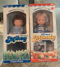 Fisher Price My Friend Mikey and My Friend Mandy