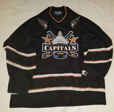 Washington Capitals Jersey Starter Rare ALL Black XL mens extra large Black  NHL aa9466183
