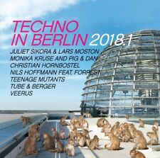 TECHNO IN BERLIN 2018.1  2 CD TEENAGE MUTANTS TUBE & BERGER VEERUS UVM NEU