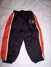 NHL Philadelphia Flyers Nylon Pants Coolest Kids Athlete ~ 18 Months