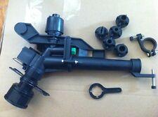 "11/2""ABS Plastic Impact Sprinkler Gun Sprinkler Head With 5 Spray Nozzles"