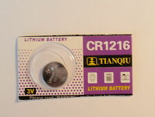 1- Fresh- Lithium Battery-3V-cr1216 -DL1216-280-208 -5034LC Fast Shipping